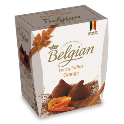 Belgian Fancy Truffles 200G Orange   /BPPR2002/