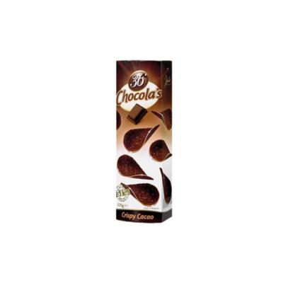 Hamlet 36 Chocola's  Crispy Cacao étcsokicsipsz puffasztott rizzsel 125G