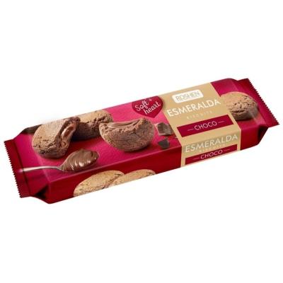 Esmeralda omlós kakaós keksz csokoládé krémmel töltve