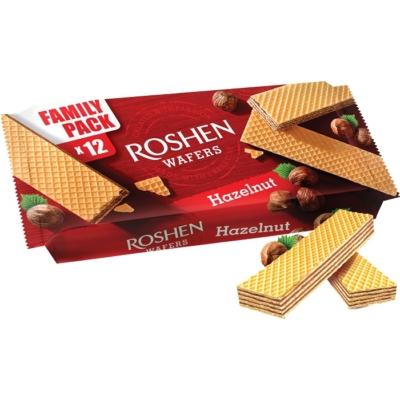 Roshen Wafers 216G Hazelnut