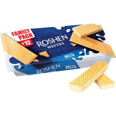 Roshen Wafers 216G Milk