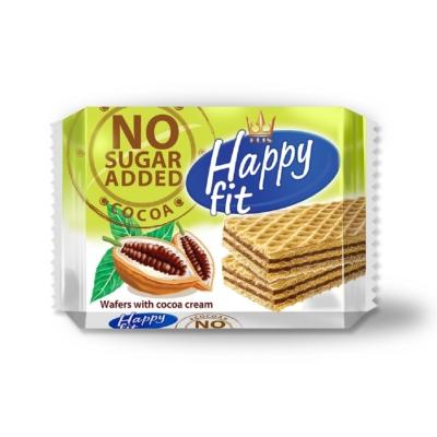 Happy Fit 95G Ostyaszelet Kakaó Hozzáadott Cukor Nélkül