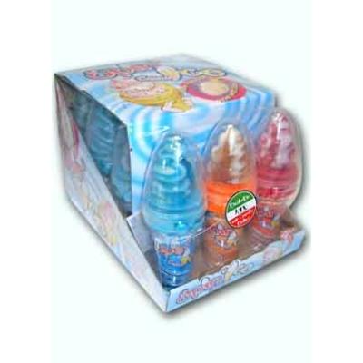 Sweet'N Fun Spin'Ice Candy 24G 3Íz Fagyi Himbeere-Vanille, Erdbeer-Vanille, Cola