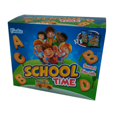 Fundiez Schooltime 17*15G Biscuit /43454/