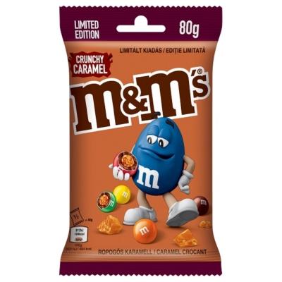 M&M's 80G Crunchy Caramel