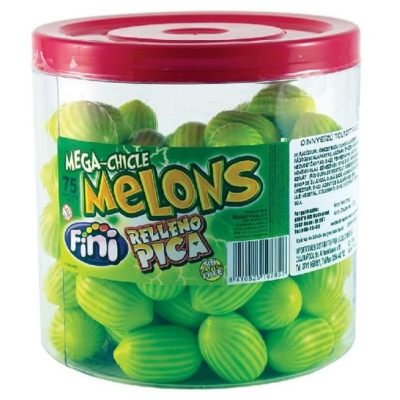 Fini Mega Chicle Melons Dinnyerágó 18G /10079/