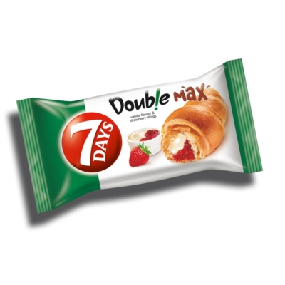 7 Days Croissant Double 80G Eper-Vanília
