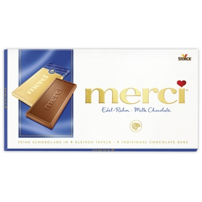 Merci 100G Edel-Rahm Milk Chocolate