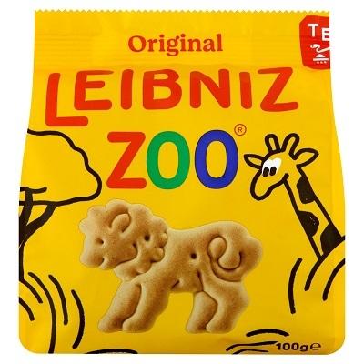 Leibniz 100G Zoo Vajas Keksz