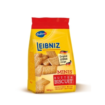 Leibniz 100G Mini Vajas Keksz