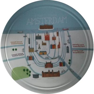 Dán Keksz 454G Fémdobozos Városok