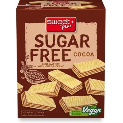 Sweet+Plus 180G SugarFree Kakaós Ostya