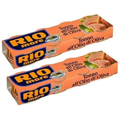 Rio Mare Tonno All'Olio Di Oliva 4*80G Tonhaldarabok Olivaolajban 320G