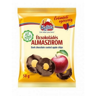 Kalifa étcsokoládés almaszirom 50 g