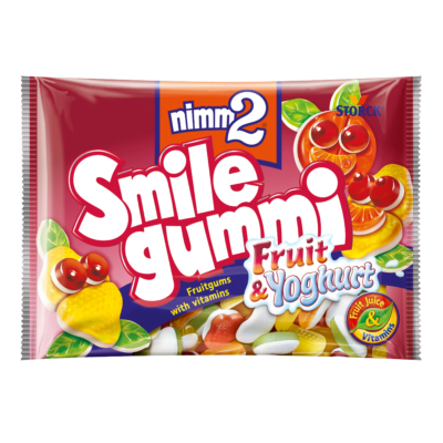 Nimm2 Smilegummi Fruit-Joghurt 100G