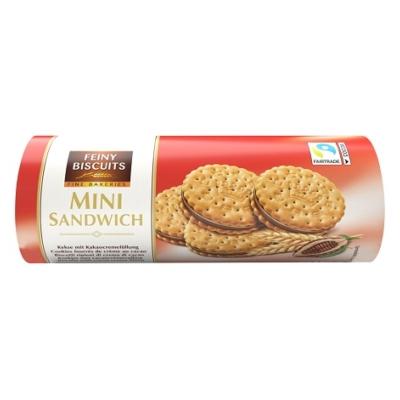 Feiny Biscuits Mini Szendvicskeksz Kakaó Krémmel 180G