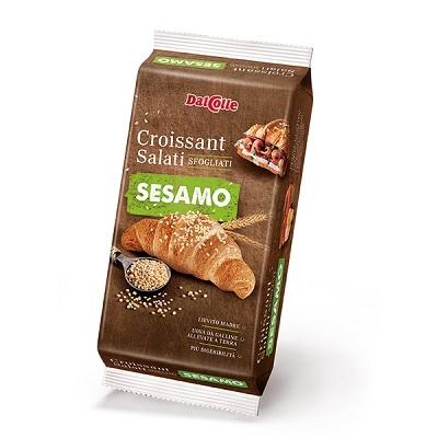 Dal Colle 240G  Croissant Sós Szezámmagos