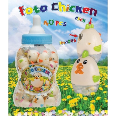 Toy Candy Foto Chicken Big 4G   380