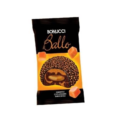 Bonucci Ballo 50G Étbevonóba Mártott Kakaós Piskóta Karamell Szósszal