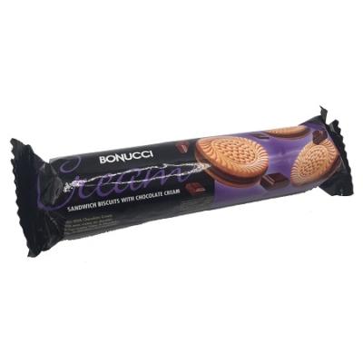 Bonucci Cream 75G Csokoládé Ízű Krémmel Töltött Keksz