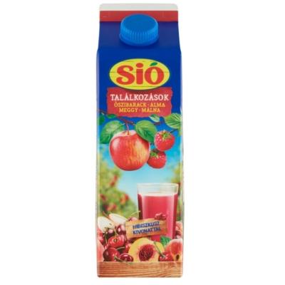 Sio 1L Őszi-Alma-Meggy-Málna 25%