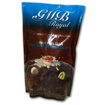 Csokipasztilla Gömb Royal 900G Tej