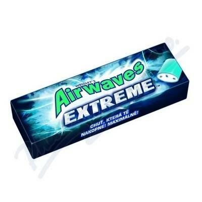 Airwaves Drazsé Extreme erős mentol és eukaliptusz ízű rágugumi 14G Cukormentes