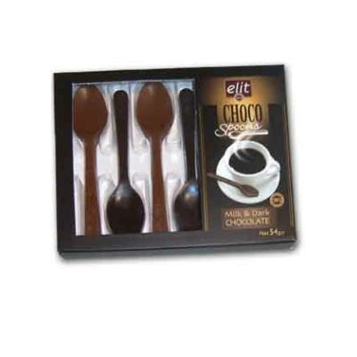 Elit Choco Spoons 54G Csokikanál Ét-Tej