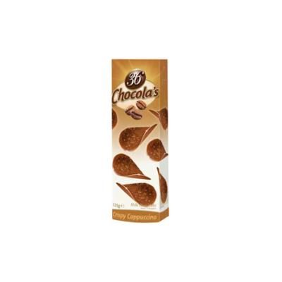 Hamlet 36 Chocola's Crispy cappuccino ízű tejcsokoládé puffasztott rizzsel 125 g
