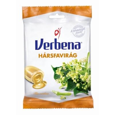 Verbena hársfavirág ízű töltelékkel töltött cukorka 60G