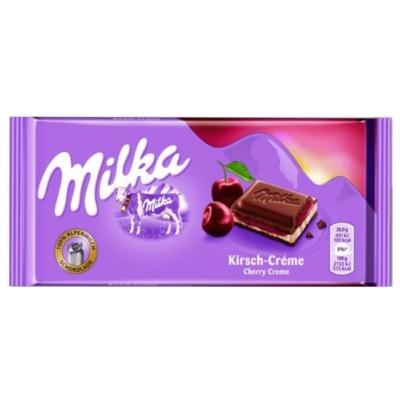 Milka 100G Cherry Cream