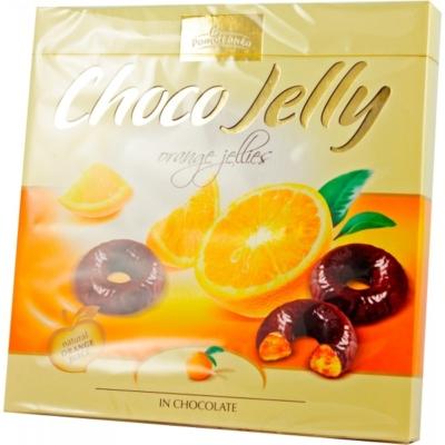 Pomorzanka Choco Jelly 175G Csokival Bevont Narancsos Zselé