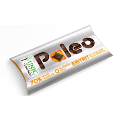Paleo 80G Étcsokoládé 70% Eritrittel