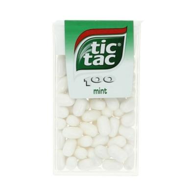 Tic-Tac Mint mentol ízű cukordrazsé 49G
