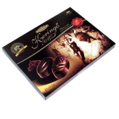 Szerencsi Mogyoró-és trüffelkrémmel töltött étcsokoládé desszert 105g