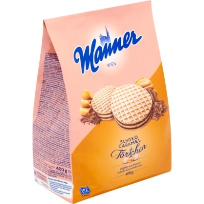 Manner Törtchen 400G Caramel