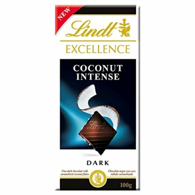 Lindt Excellence 100G Dark Coconut LNEX1027
