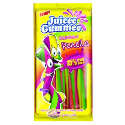 Juicee Gummee 85G Rainbow Pencil  CAJZ3003