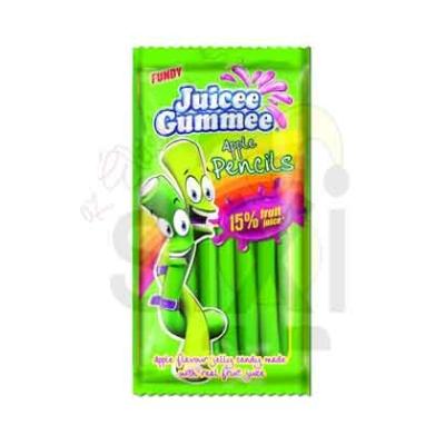 Juicee Gummee alma ízű gumicukor rudak 85G