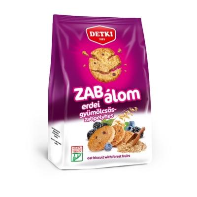 Detki Zab Álom erdei gyümölcsös omlós keksz 180 g