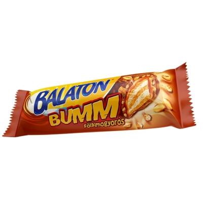 Balaton Bumm kakaós tejmasszával mártott töltött ostyaszelet földimogyoróval 40 g