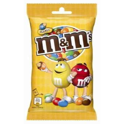 M&M's Földimogyorós drazsé tejcsokoládéban cukorbevonattal 90G