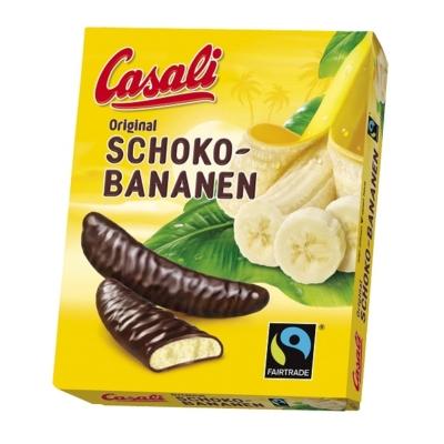 Casali Schoko Csokoládés banán - habosított banánkrém csokoládéba mártva 150G