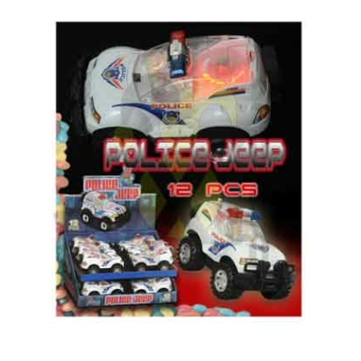 Toy Candy Police Jeep 6G (593)