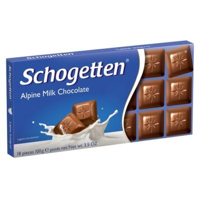 Schogetten 100G Milk/Vollmilc /17851-19242/