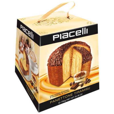 Piacelli Panettone 750G Tiramisu /87821/