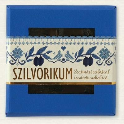 Szilvórikum 100G Étcsokoládé Szatmári Szilva Darabokkal