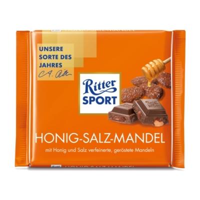 Ritter Sport 100G Honig-Salz-Mandel 464128