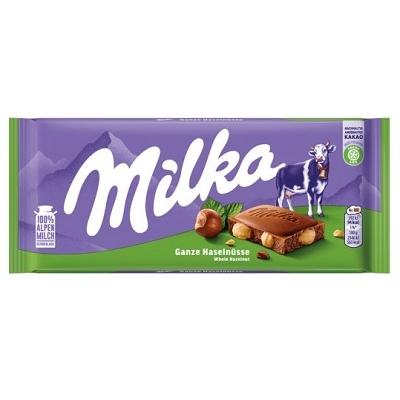 Milka 100G Egész-Mogyorós