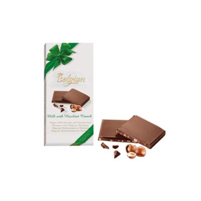 Belgian Milk Hazelnut Crunch 100G Tejcsokoládé Ropogós Mogyoróval BPTL1002